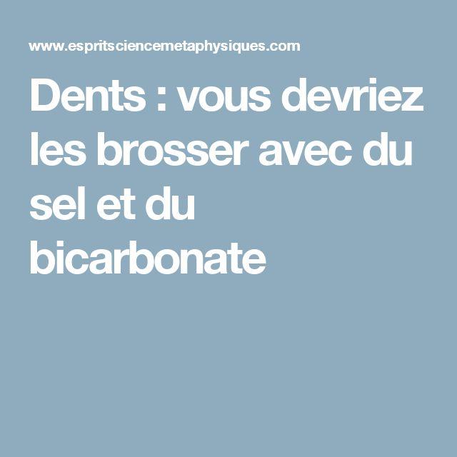 17 meilleures id es propos de brosser les dents sur pinterest le brossage - Nettoyer les vitres avec du bicarbonate ...