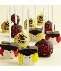 cute! 12 Graduation Brownie Pops  $39.98