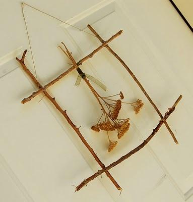 Toad's Treasures: Twig Decoration Tutorial