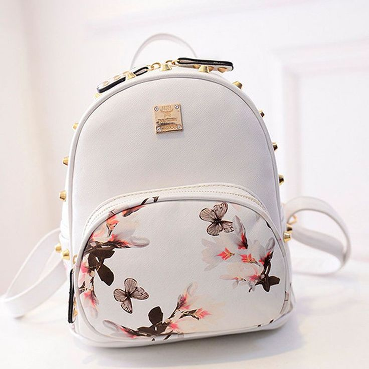 New Girl School Bag Travel Cute Backpack Satchel Women Shoulder Rucksack GYFU