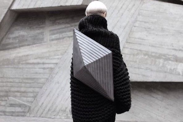 Awesome geometric backpack