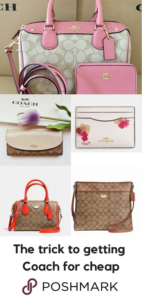 81d8e11f410c2a Get Coach designer handbags for up to 70% off retail on Poshmark. Download  the app to shop. #coachpurses70off