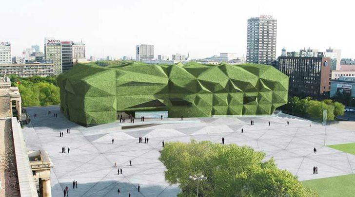 Camilo Rebelo's vision for the Museum of Modern Art in Warsaw