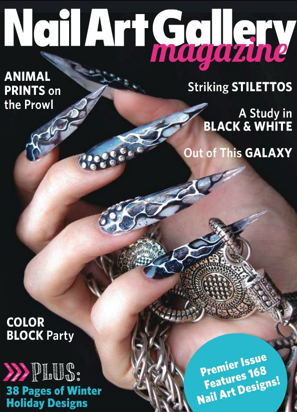 The first digital issue of Nail Art Gallery Magazine - Free - Submit your nail art to get it featured in the next magazine issue! http://nailartgallerymag.epubxp.com