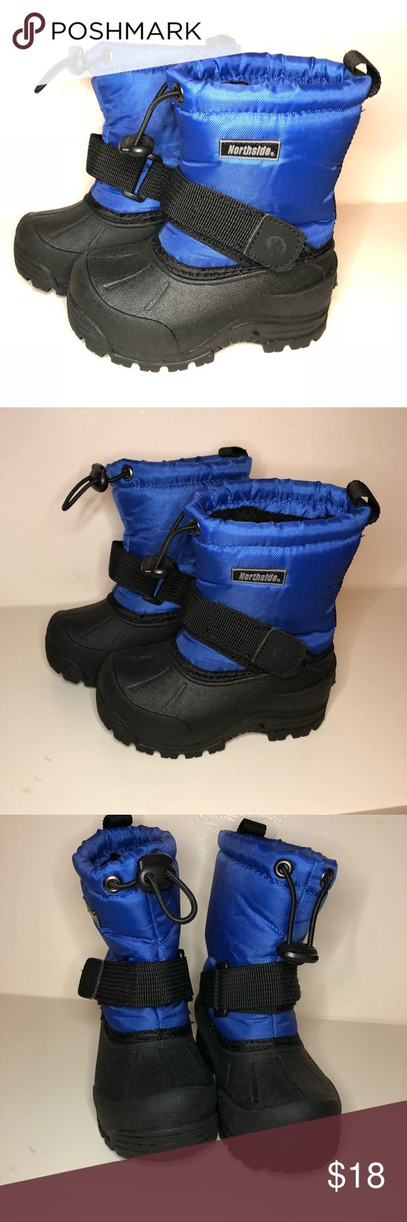 Toddler boys snow boots Northside snow boots. Like new. Worn once. No wear on soles, see photo. Northside Shoes Rain & Snow Boots