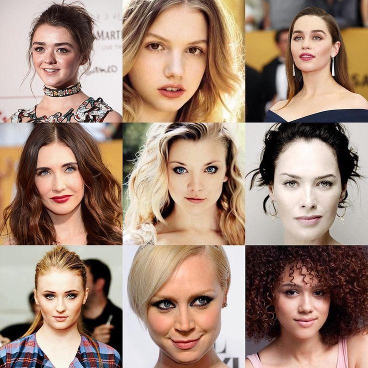 As much as we all love #Tyrion and #JonSnow We all know the women of #GameofThrones kickass!  Heres the rundown.  #MaisieWilliams  #AryaStark #HannahMurray #Gilly #EmiliaClarke  #DaenerysTargaryen #CaricevanHouten  #Melisandre #NatalieDormer  #MargaeryTyrell #LenaHeadley  #CerseiLannister #SophieTurner  #SansaStark #GwendolineChristie  #BrienneofTarth #Nathalie Emmanuel  #Missandei  #GoT #Khaleesi #Dragons #IronThrone