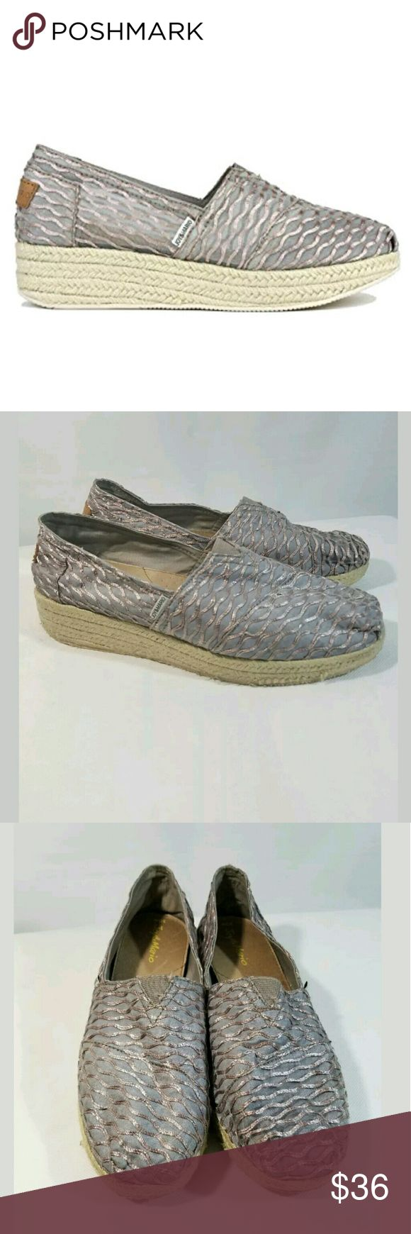 Joy & Mario Stacked Espadrille Shoes Size 10W Joy & Mario Stacked Espadrille Shoes Women's Size 10W Neutral  Very good used condition.    LB joy & mario Shoes Espadrilles
