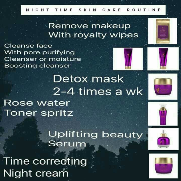 Royalty Skin Care Line - Night Time Routine | Younique By ...