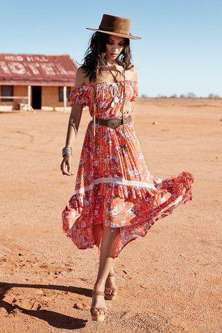 Revolver Off The Shoulder Dress