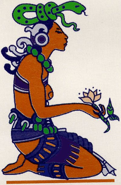 IXCHEL Mayan Goddess of Childbirth | Mayan Goddess ...