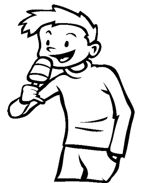 Popsicle Coloring Page Cookie