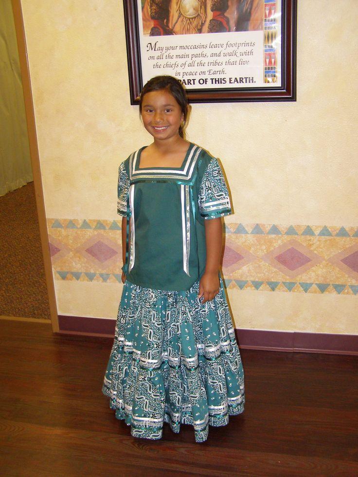 Ribbon Dress Native American Ceremonial Dress My Own