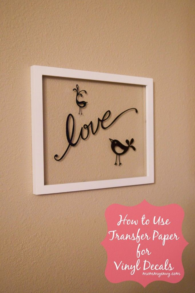 Pay for paper vinyl decals