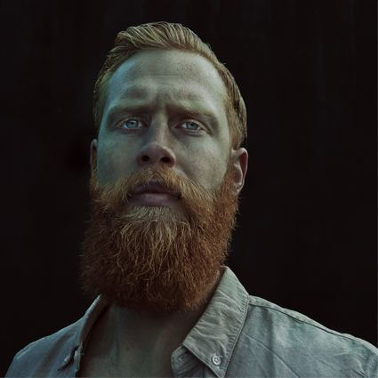 Gwilym Pugh aka @the_gingerbeard  shot by Andy Bell