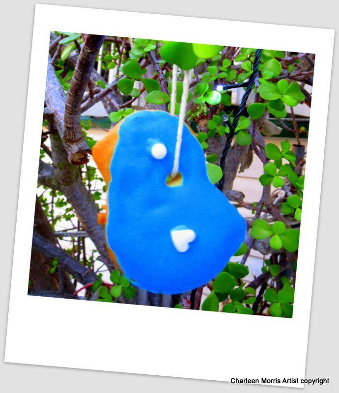 Blue bird biscuit tree