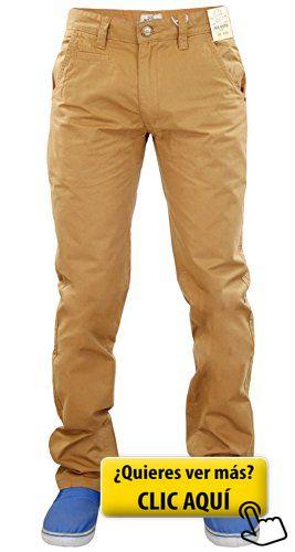 Jack South - Vaquero - para hombre beige Tabaco... #pantalones