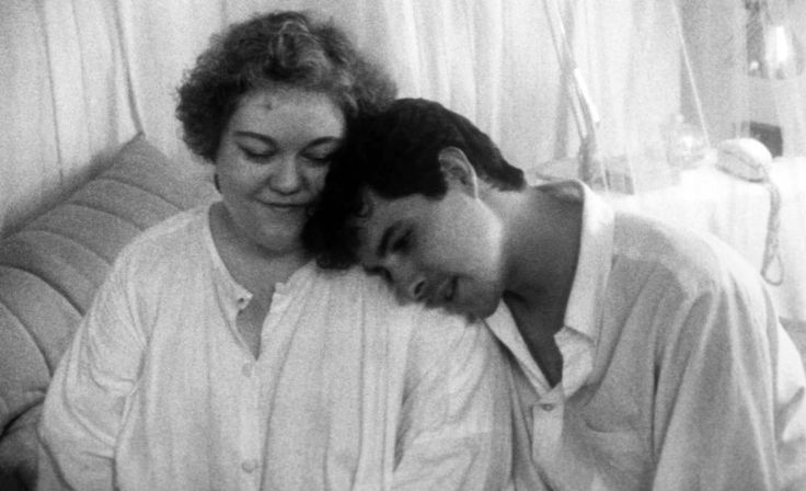 Kathy Kinney, Richard Ganoung, 1986   Essential Gay Themed Films To Watch, Parting Glances http://gay-themed-films.com/watch-parting-glances/