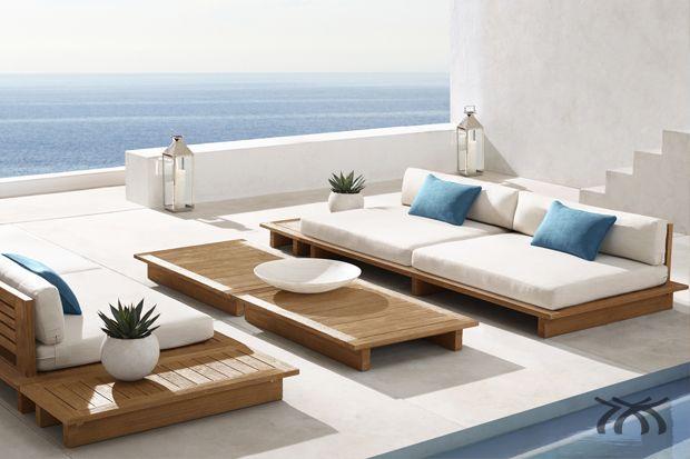 Resultado de imagem para móveis em madeira área externa ...