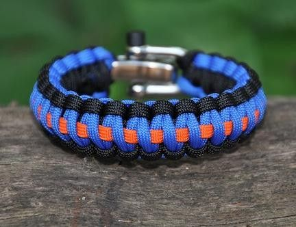 Survival Straps- these are bracelets are made out of super strong military spec paracord that can deploy into paracord if you ever are in a life or death situation. Also, the proceeds help the wounded soldier project. SO COOL!