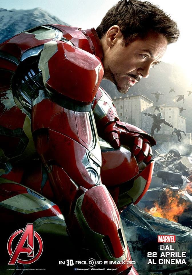 Comic-Soon: AVENGERS: AGE OF ULTRON - LO SPETTACOLARE TRAILER ...