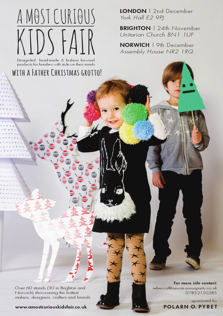 A Most Curious Kids Fair - UK  Will you be there?    Kickcan & Conkers