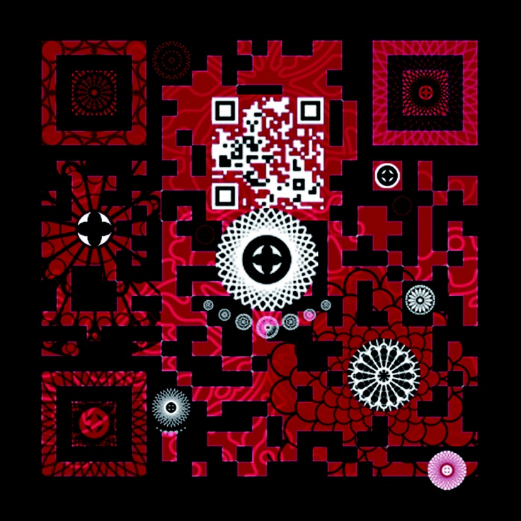 Gorgeous! QR Code - Labyrinth by RAO