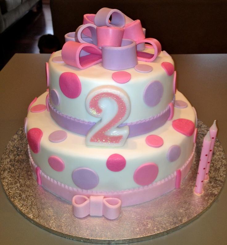 Scarlett's 2nd birthday cake.