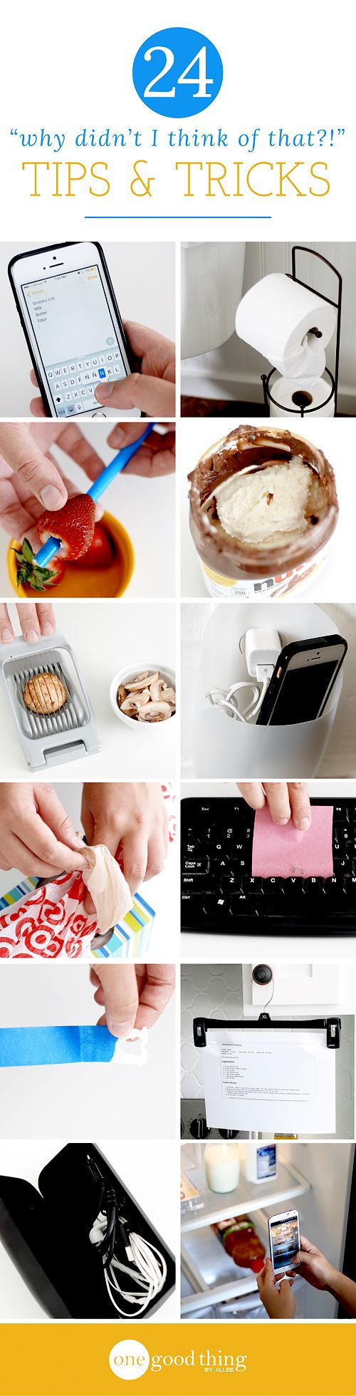 Little things can make a big difference when it comes to making life a little easier. Here are some of our favorite uncommon solutions to common problems.
