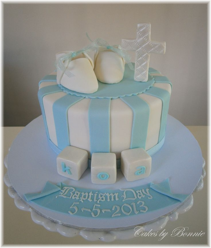 Fondant Cake For Baptism : Baptism cake , fondant booties **Cakes by Bonnie** my ...