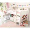 Reece Midsleeper Cabin Bed - White - Cabin, High Sleeper & Bunk Beds - Beds & Mattresses - gltc.co.uk
