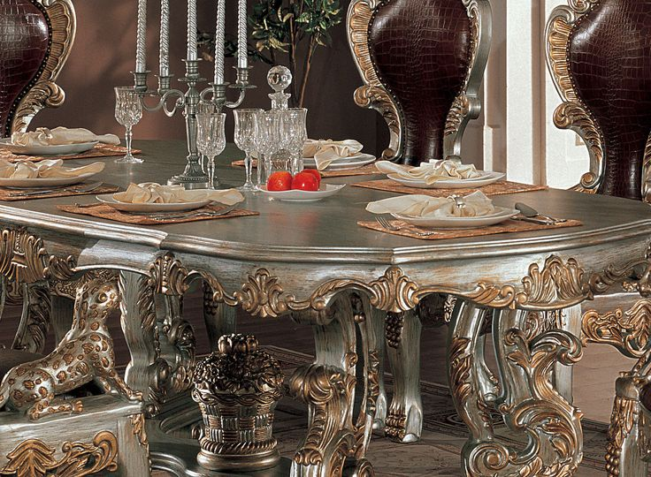 Ornate dining room sets