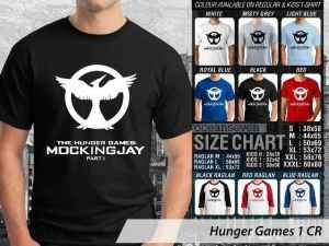 Kaos Hunger Games Mockingjay Couple, Kaos Film Hunger Games Anak-anak, Kaos Hunger Games Movie Couple Family, Kaos Hunger Games Terbaru