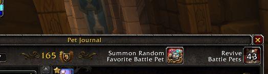 TIL that a Summon Random Favorite Battle Pet button was finally added in 7.3 #worldofwarcraft #blizzard #Hearthstone #wow #Warcraft #BlizzardCS #gaming