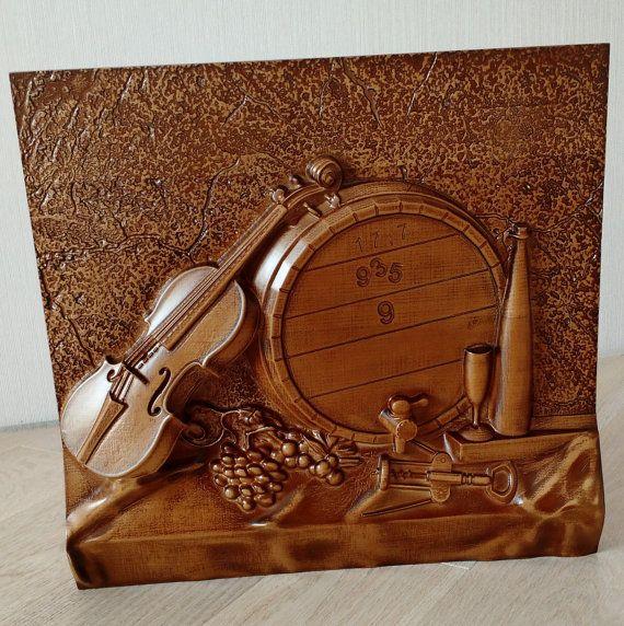 Violinwood artgift ideashome decor. by WoodproductsArt on Etsy