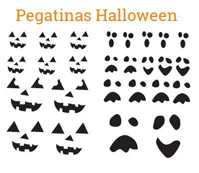 Pegatinas de halloween para imprimir - Pegatinas para la pared ...