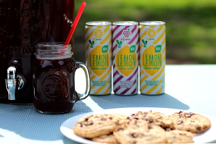 Triple Berry Iced Tea Recipe and Lemon Lemon Sparkling Lemonade to keep hydrated while you're grilling this summer!