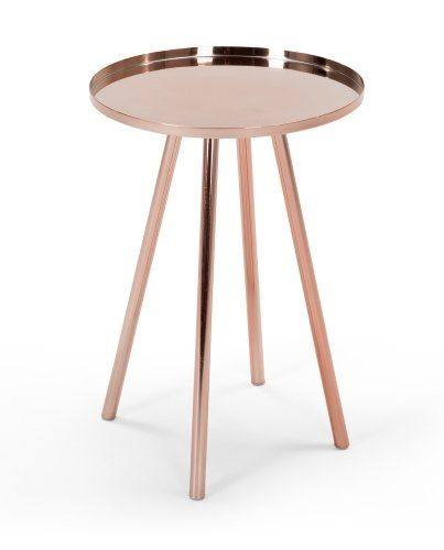 The Alana Bedside Table in Copper. £79 | MADE.COM