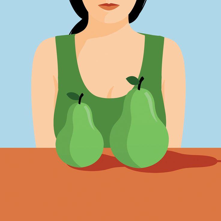 anna parini illustration ilustración illustrazione chateleine boobs asimmetry