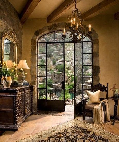 Mediterranean Entry Design, Pictures, Remodel, Decor and Ideas - page 13