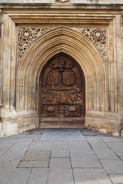 Antique Door in Bath England