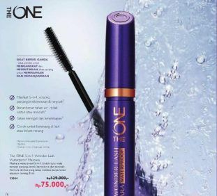 The ONE 5-in-1 Wonder Lash Waterproof Mascara Oriflame