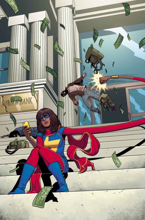 Ms.Marvel Vol.3 #6 - Jamie McKelvie