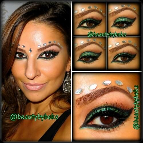 diy halloween makeup arabic makeup cat eye - Cat Eyes Makeup For Halloween