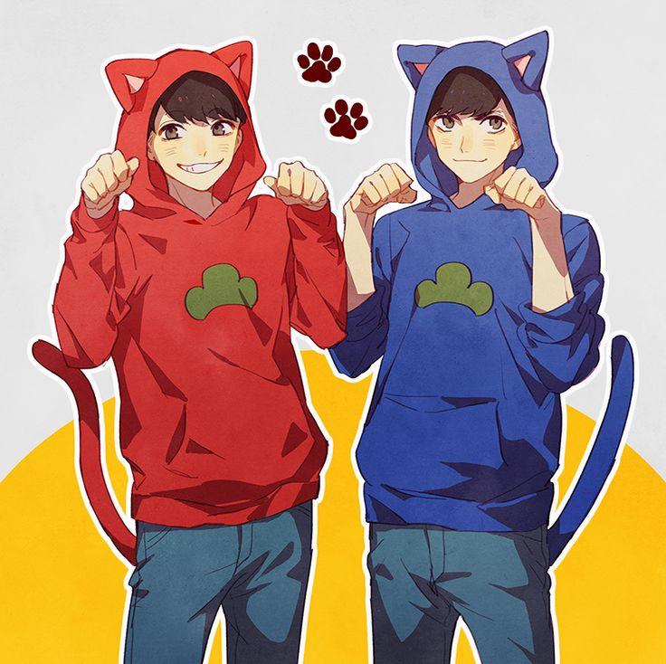 Osomatsu y Karamatsu