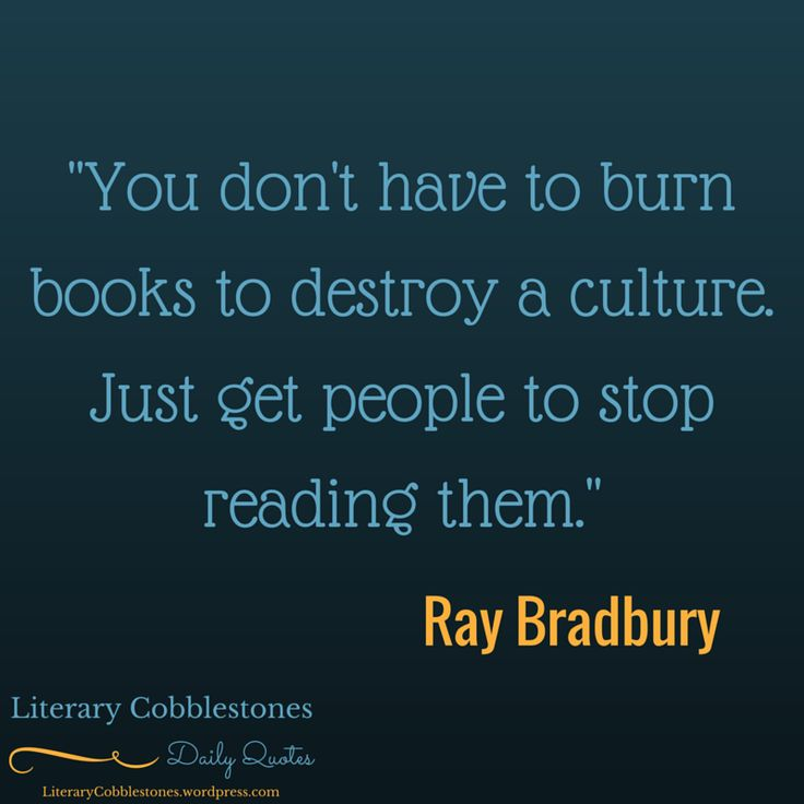 August 22: Birth of Ray Bradbury | Daily #LiteraryQuotes