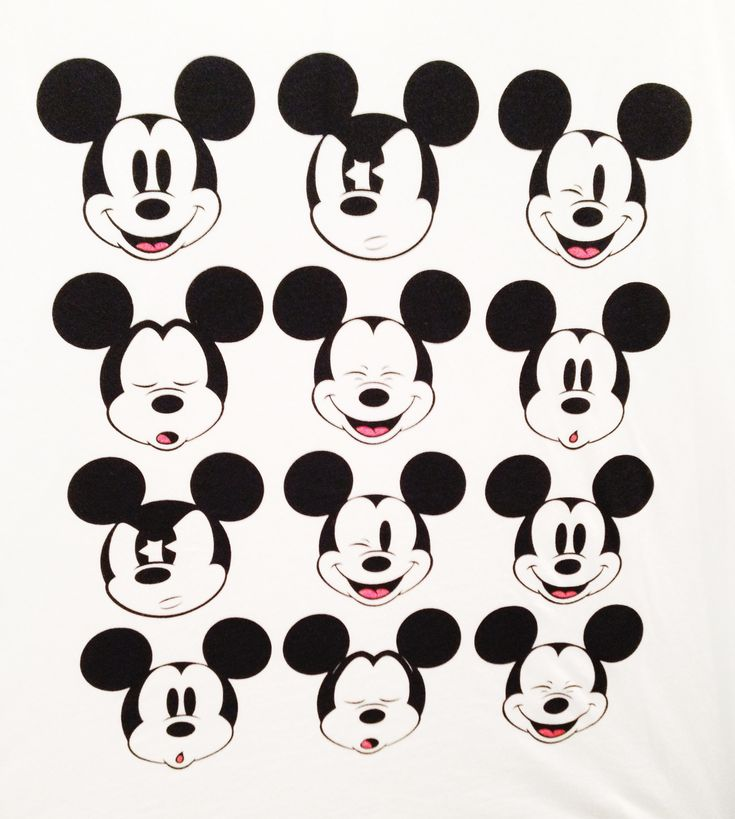 Gallery For gt Vintage Mickey Mouse Face
