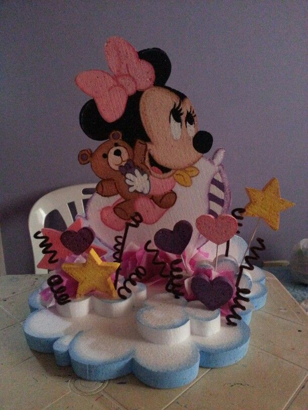 Chupetera de Minnie Mouse Baby
