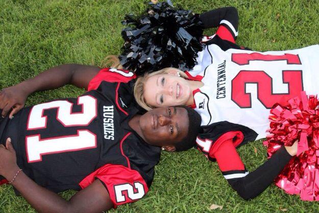 Cheer Football Couple