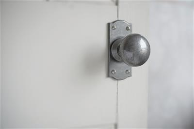 Round Door Handle | Small Bow Top | Door Furniture | Jim Lawrence