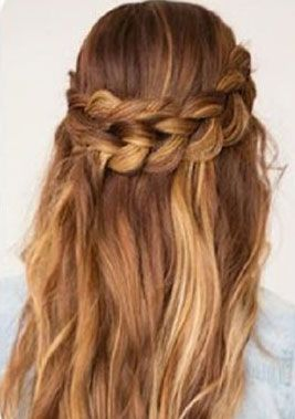 Tame Long Hair into a Beautiful Wrap-Around Braid Hairstyle - http://sensualhairgrowth.com/tame-long-hair-into-a-beautiful-wrap-around-braid-hairstyle/